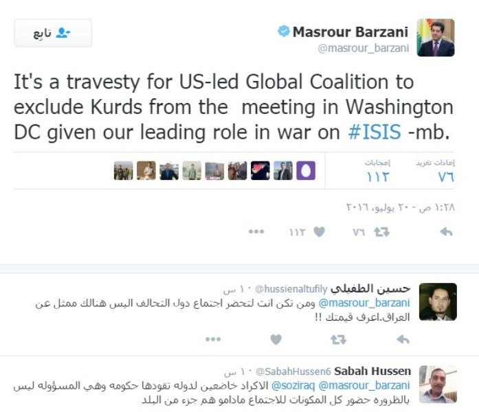 BARZANI WAS ANGRY AT THE UNITED STATES AND WHY